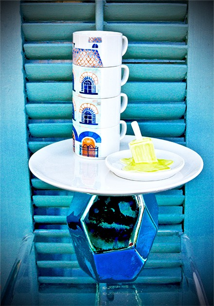 Stacked Mugs